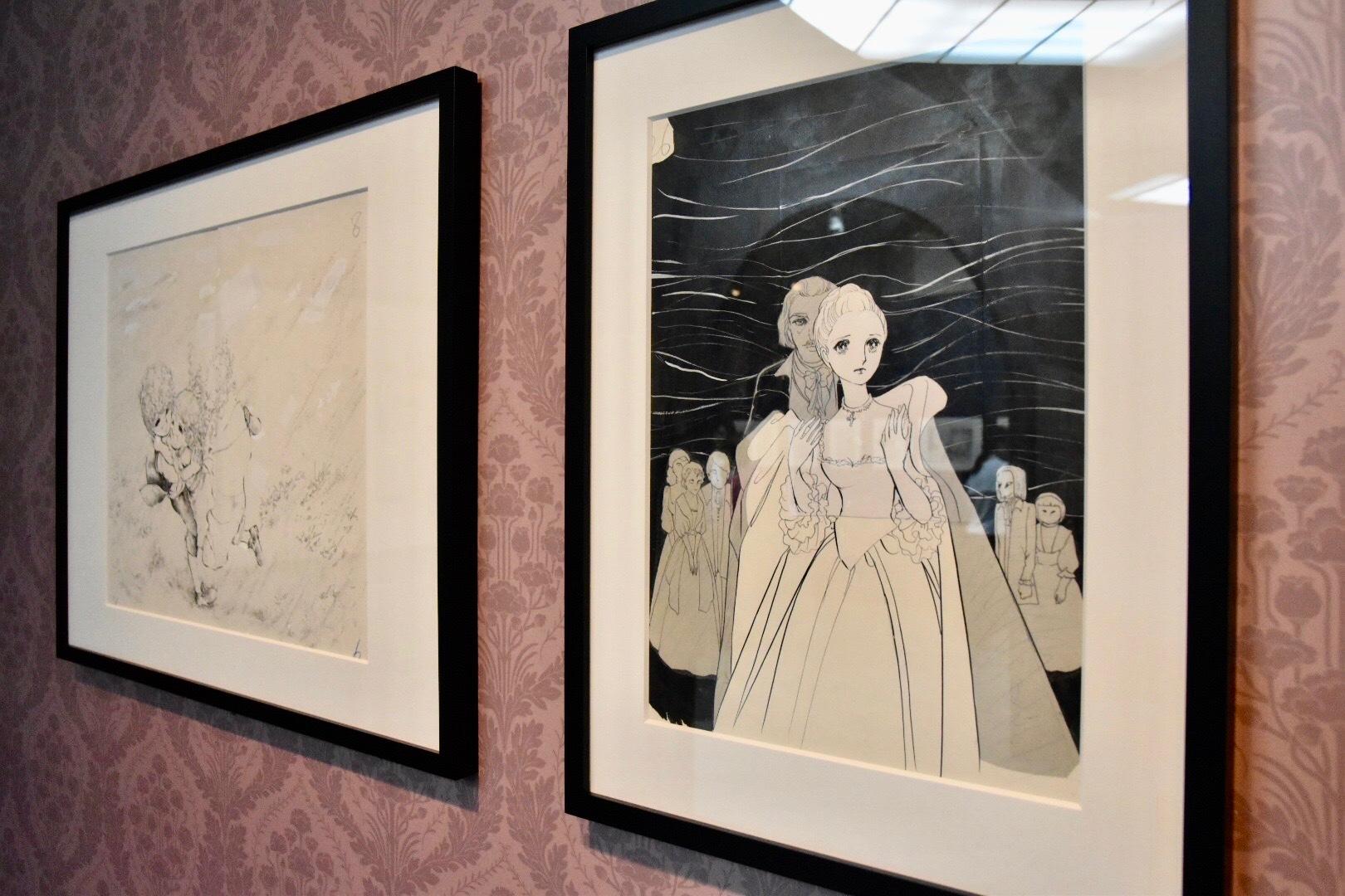 仙名が演じたシーラ・ポーツネル男爵夫人の原画 ©萩尾望都/小学館