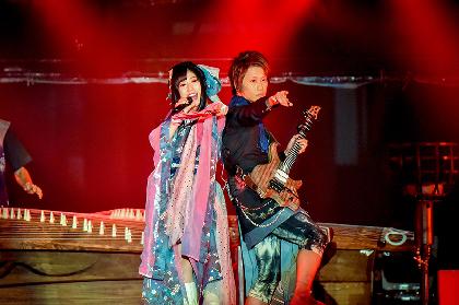 和楽器バンド、京都・平安神宮にて『和楽器バンド 平安神宮単独奉納ライブ in 和楽器サミット2018』を開催