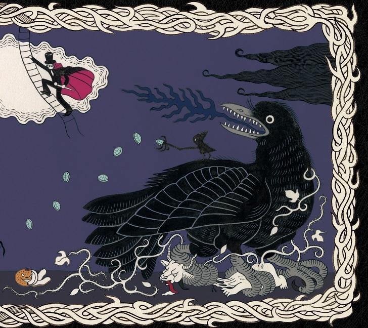 『闇夜に烏、雪に鷺』