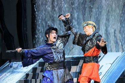 坂東巳之助と中村隼人が新橋演舞場で大立ち回り!歌舞伎『NARUTO-ナルト-』開幕だってばよ!