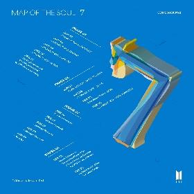 BTS ニューアルバム『MAP OF THE SOUL : 7』カムバック・マップ公開