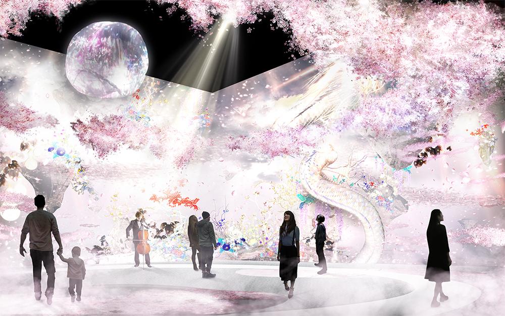 『桜彩 エリア』