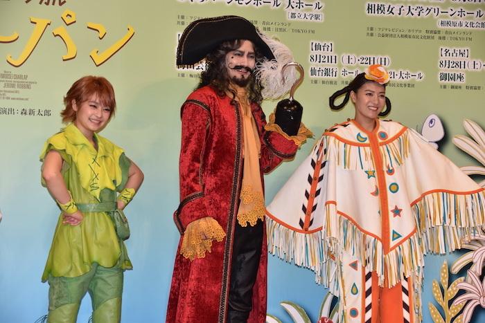 吉柳咲良、小西遼生、宮澤佐江(左から)