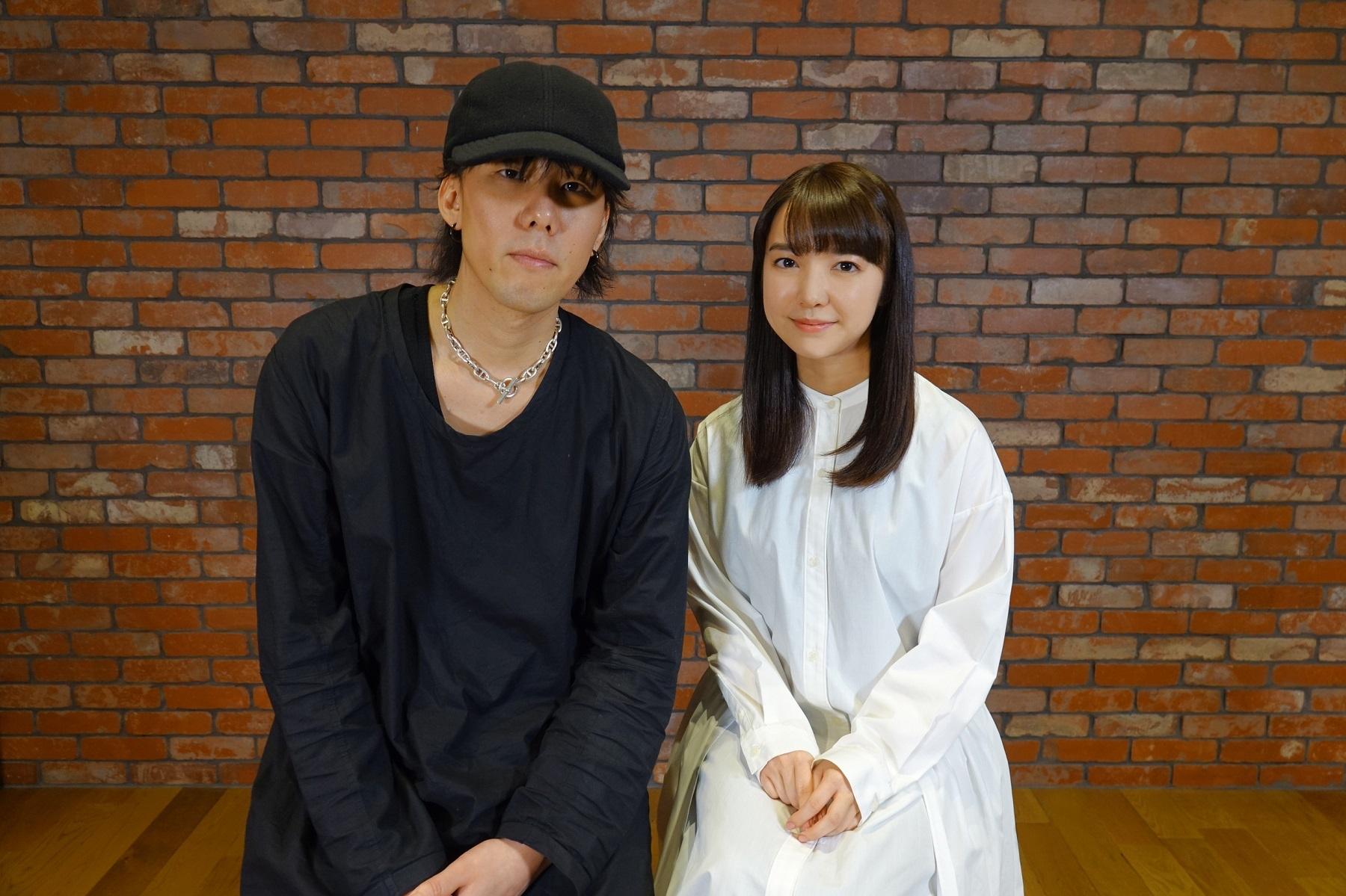 左から、野田洋次郎、上白石萌音