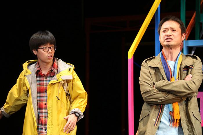 田村健太郎、福田転球 舞台「イントレランスの祭」より