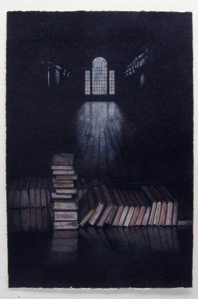 寺崎百合子《Christ Church Library 3, Oxford》2005年/個人蔵