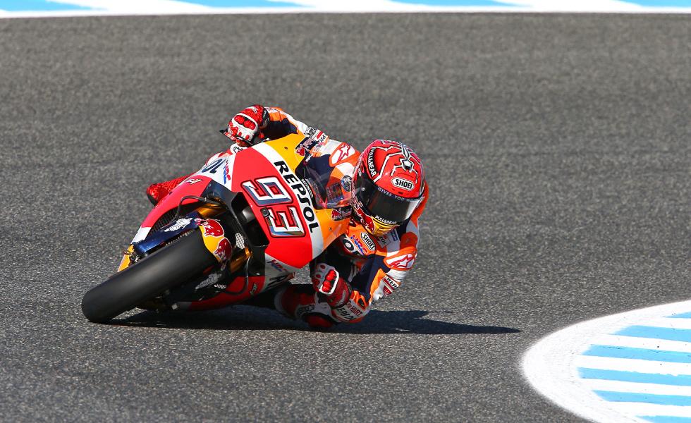 現在、チャンピオンシップをリードするマルク・マルケス(スペイン)。この日本GPで3連勝をもくろむ