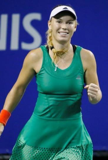 前回優勝者で3度目の優勝を目指すキャロライン・ウォズニアッキ