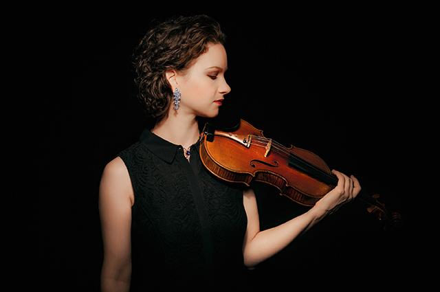 ヒラリー・ハーン(ヴァイオリン) ©Michel Patrick O'Leary