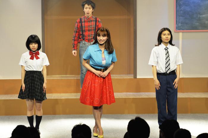 時田苺花、かにはら武司、マチコ先生、松本ヒロシ