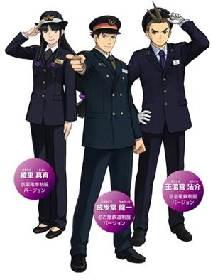 「逆転裁判6ミステリーラリー~友好の証~ 」が開催 東名阪の3鉄道会社が合同で実施
