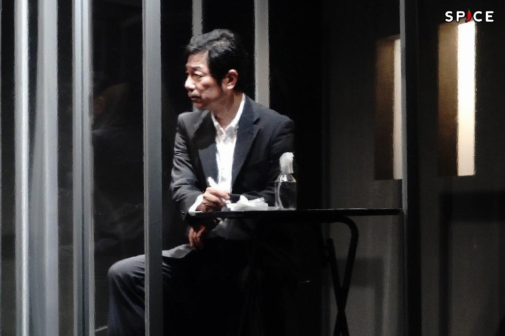舞台『YARNS』ゲネプロより 中村まこと 撮影:岩田えり