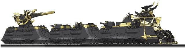【神角技巧】装甲列車シュバルツシュッツェ