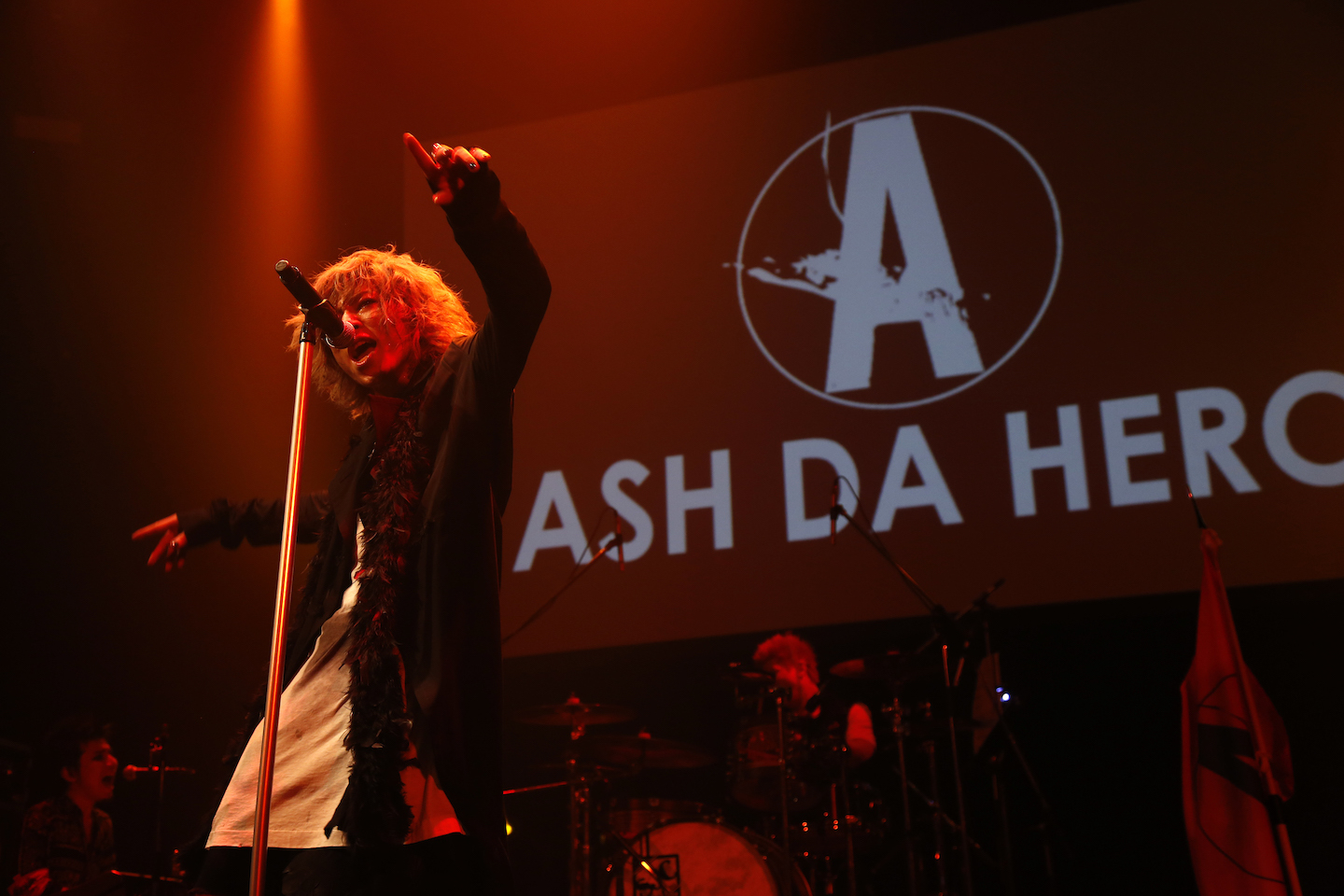 ASH DA HERO  Photo by 田中和子