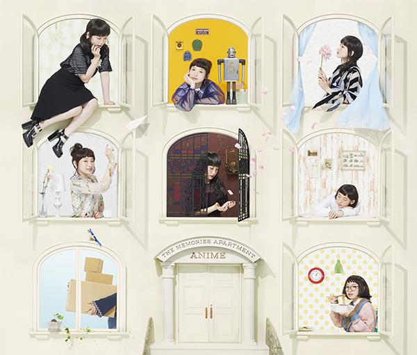 『南條愛乃 ベストアルバム THE MEMORIES APARTMENT-Anime-』初回限定盤ジャケットデザイン