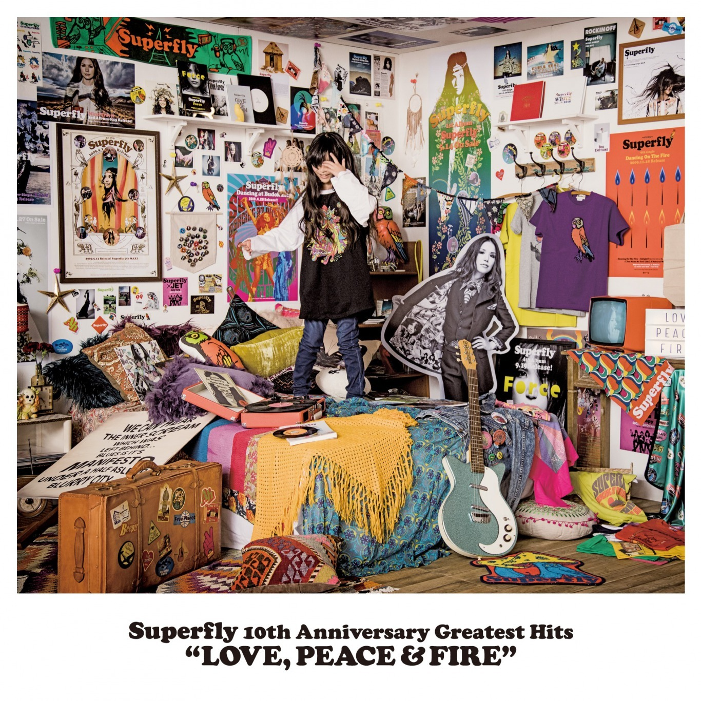 Superfly『LOVE, PEACE & FIRE』初回限定盤