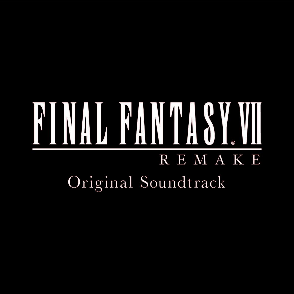 『FINAL FANTASY VII REMAKE Original Soundtrack』サブスクパッケージ