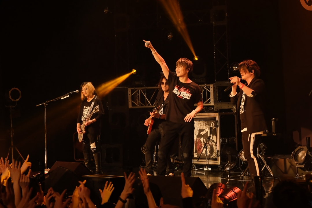 "『ACE OF SPADES 1st. TOUR 2019 ""4REAL""』最終公演"