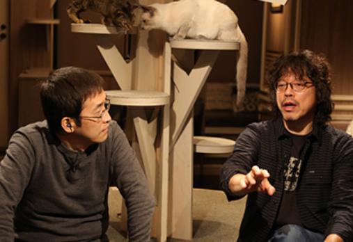 NHK『漫勉』公式サイトより引用(左から伊藤潤二、浦沢直樹)