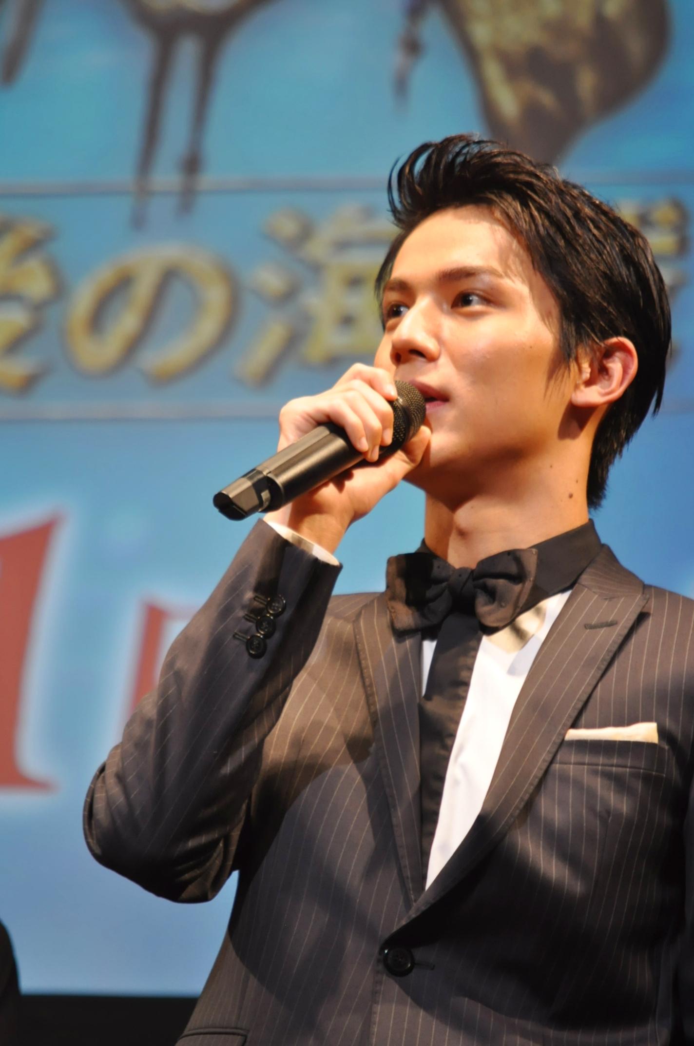 「ジョニー・デップの色気を吸い取りたい」と語る中川大志 撮影=村田 由美子
