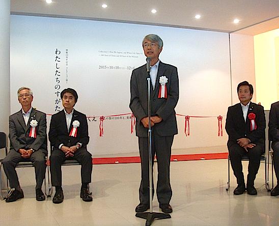 「愛知県美術館」館長を経て、今年4月に就任した村田眞宏館長