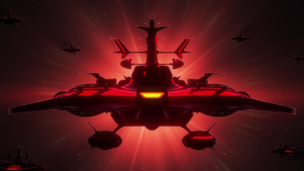『宇宙戦艦ヤマト2205 新たなる旅立ち 前章 -TAKE OFF-』特報より (c)西﨑義展/宇宙戦艦ヤマト2205製作委員会