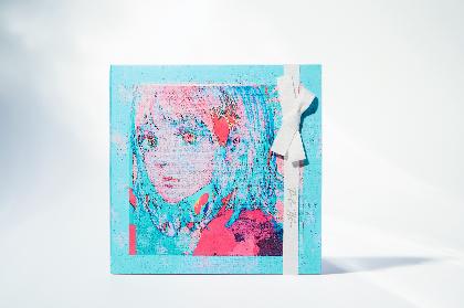 米津玄師、ニューシングル「Pale Blue」パッケージが公開 「パズル盤」「リボン盤」「通常盤」3形態でリリース