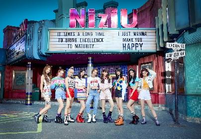 NiziU、プレデビュー日を迎え、初々しさ・瑞々しさ・いじらしさが濃縮された初のMusic Video「Make you happy」を公開