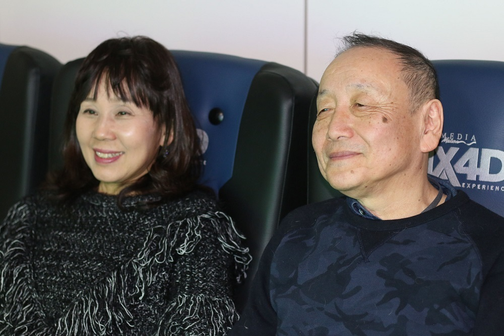 左:島本須美 右:友永和秀氏