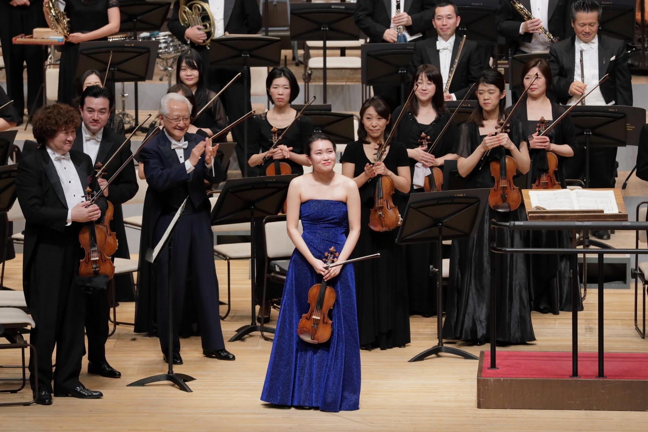 プロコフィエフの2番は秋山さんはじめ楽員も大絶賛でした!(「第535回定期」2020.2 フェスティバルH)  (C)飯島隆