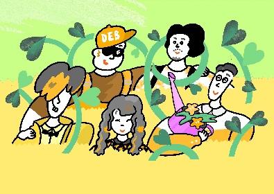 フレンズ 、新曲「あくびをすれば」がTVアニメ『ハクション大魔王2020』エンディングテーマに決定、楽曲の先行配信も決定