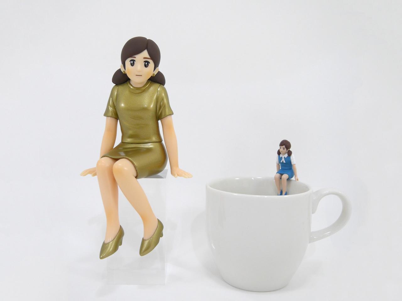 「コップのフチ子+ 奇譚クラブ10周年ver.」 2800円(税別)