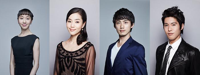 米沢 唯/小野絢子/渡邊峻郁/福岡雄大