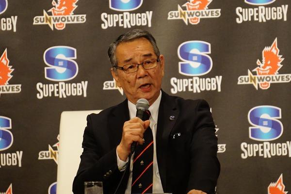 日本ラグビーフットボール協会副会長・矢部達三
