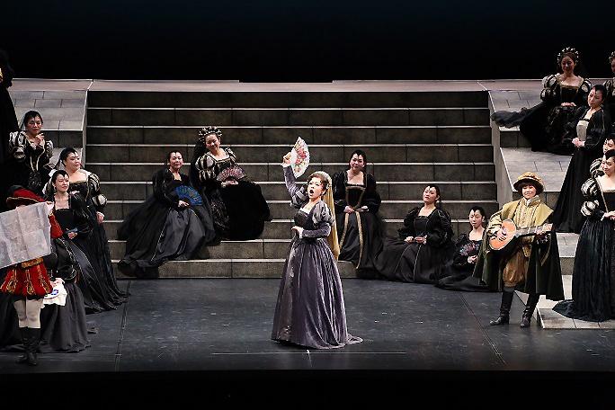 関西二期会第81回オペラ公演「ドン・カルロ」エーボリ公女(H26年10月25日) 写真提供:関西二期会