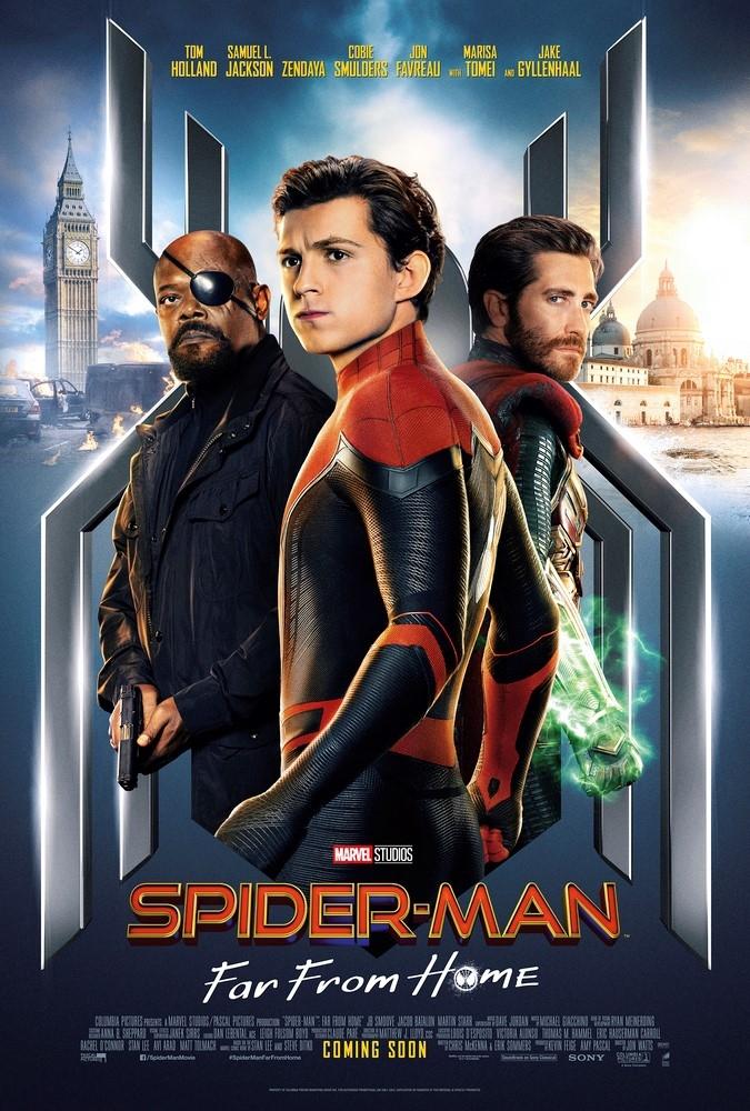 『スパイダーマン:ファー・フロム・ホーム』US版ビジュアルポスター(B2サイズ)