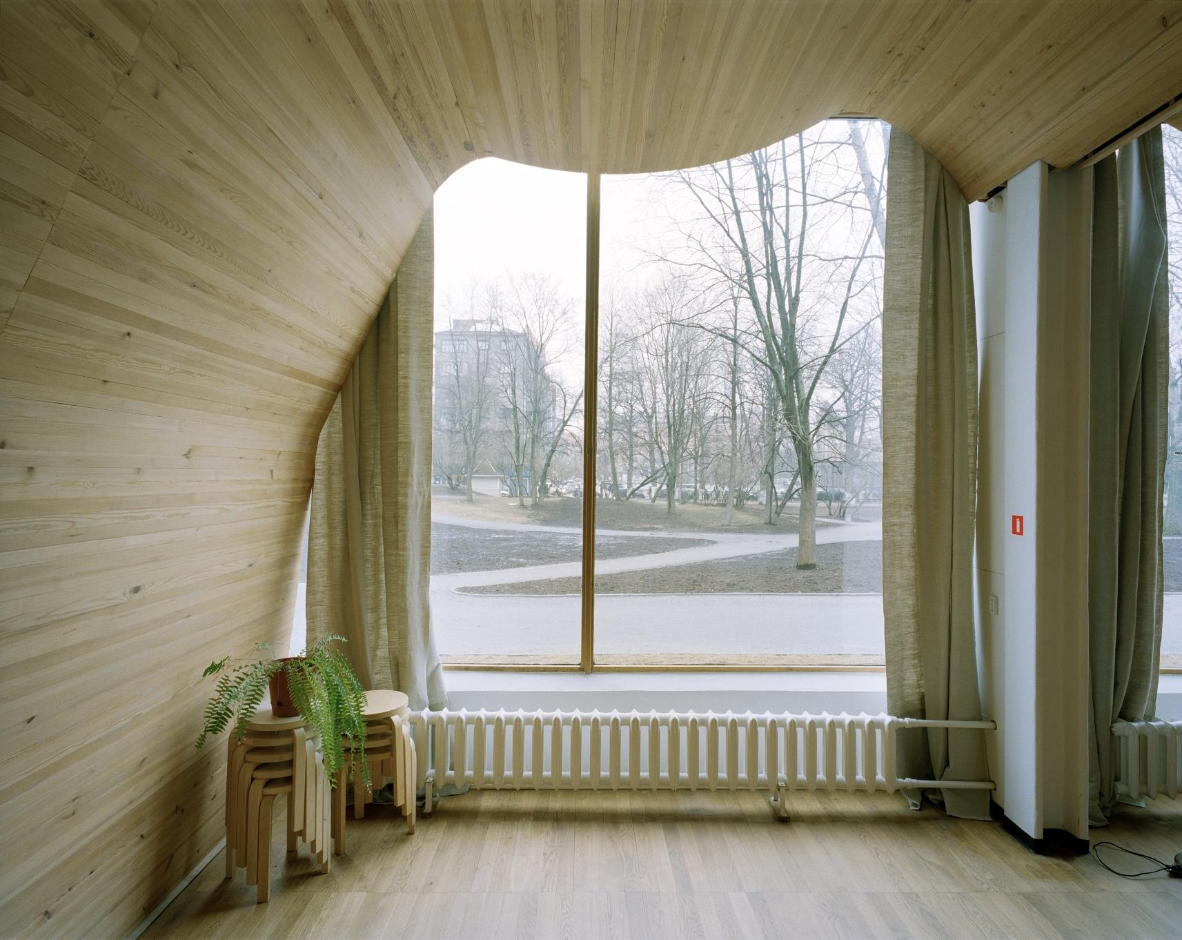 アルミン・リンケ撮影、ヴィープリ(ヴィーボルク)の図書館/Alvar Aalto, 1927-35 (C)Armin Linke, 2014