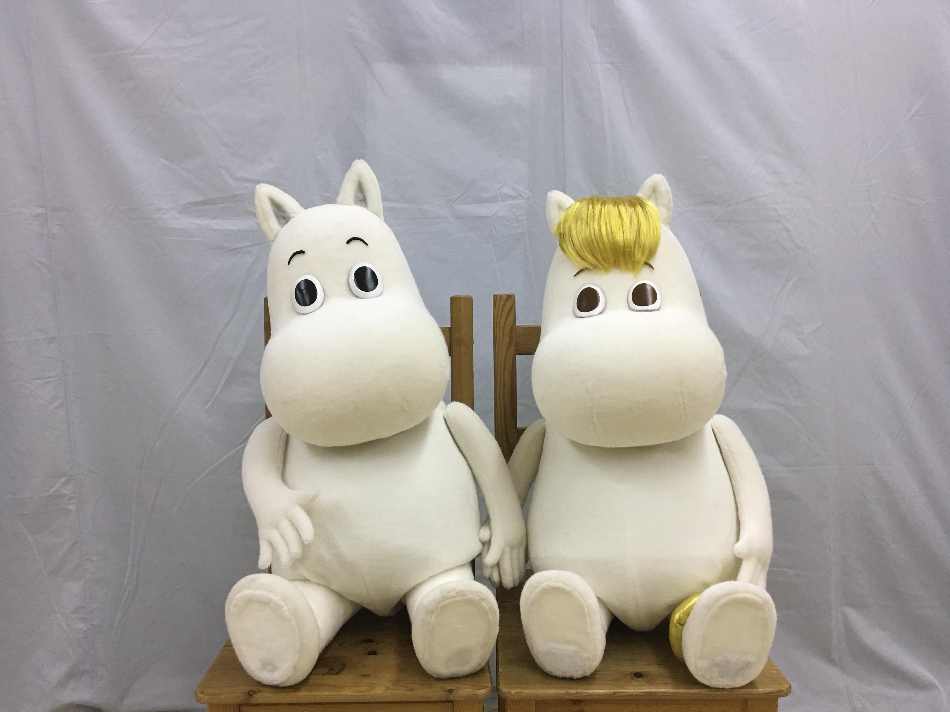 (C) Moomin Characters (TM)/人形製作:人形劇団ひとみ座