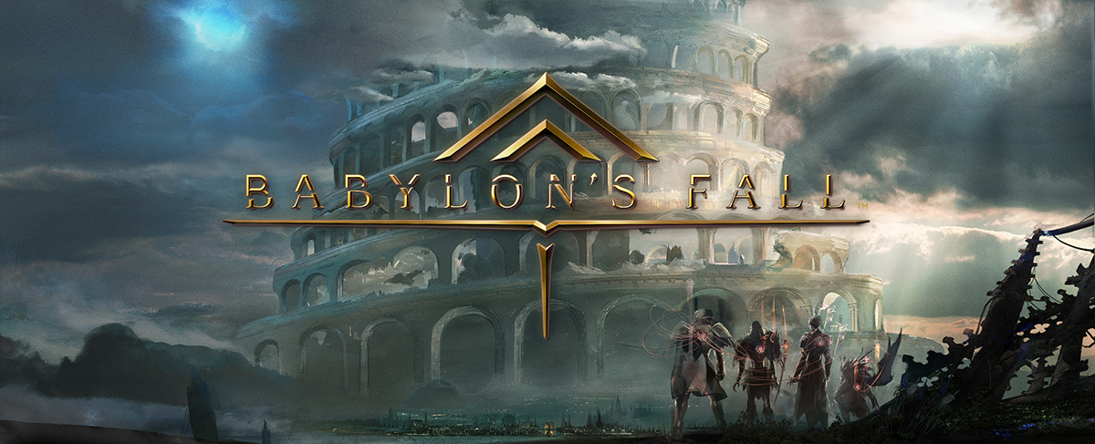 『BABYLON'S FALL』キーアート (c) SQUARE ENIX CO., LTD. All Rights Reserved.Developed by PlatinumGames Inc.