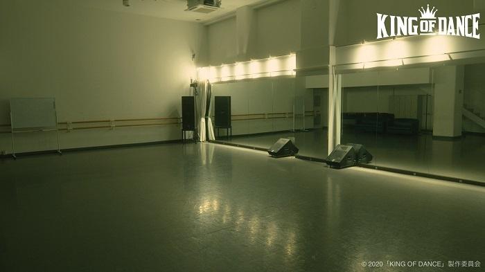 レッスン場 (C)2020「KING OF DANCE」製作委員会