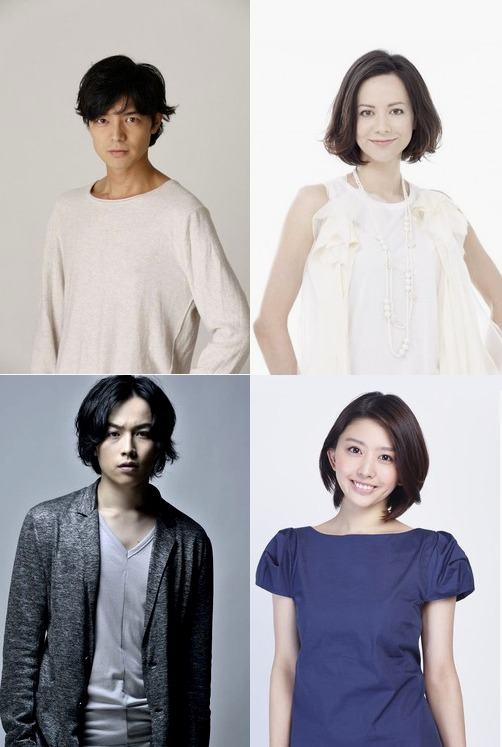 (上段左から)上口耕平、AKANE LIV、(下段左から)鈴木勝吾、はねゆり