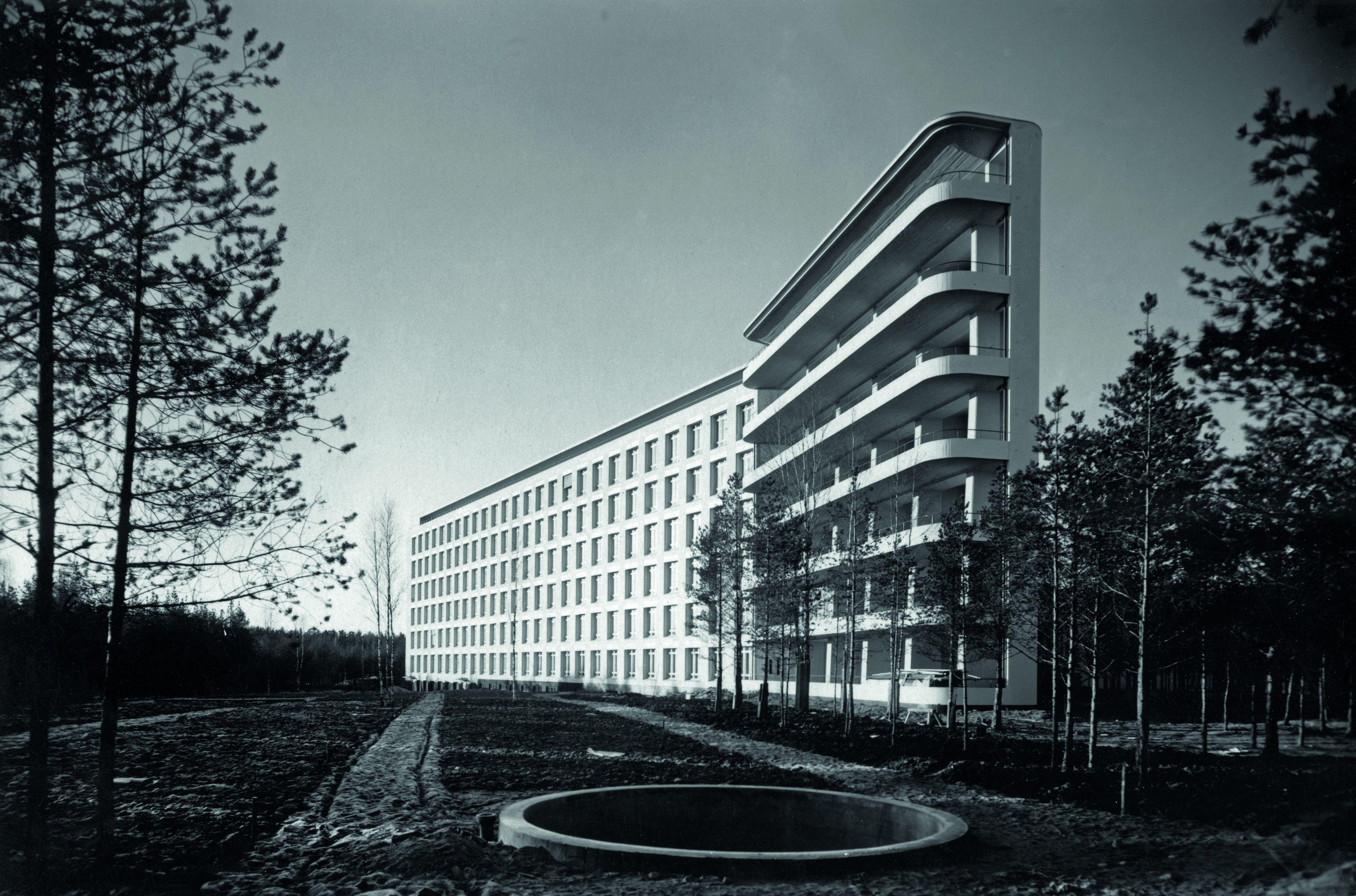 パイミオのサナトリウム/Alvar Aalto, 1928-33 (C)Alvar Aalto Museum, photo: Gustaf Welin