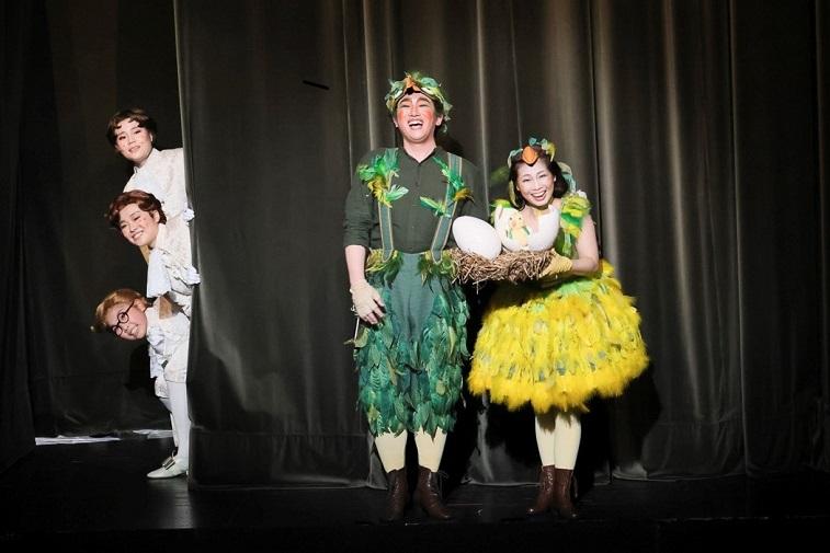 オペラへの招待 歌劇「魔笛」 平欣史(パパゲーノ)と熊谷綾乃(パパゲーナ)