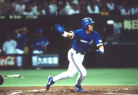 「ハマの安打製造機」として1998年も首位打者となった鈴木尚典氏