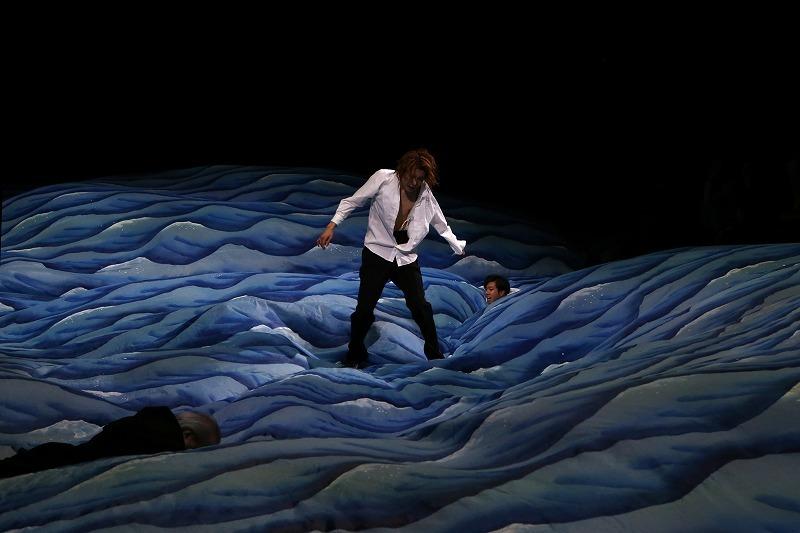 クライオーヴァ国際シェイクスピア・フェスティバルでの『リチャード二世』(2016年4月) 撮影 Mihaela Marin