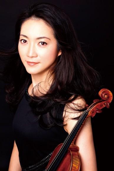 諏訪内晶子(ヴァイオリン)©吉田民人