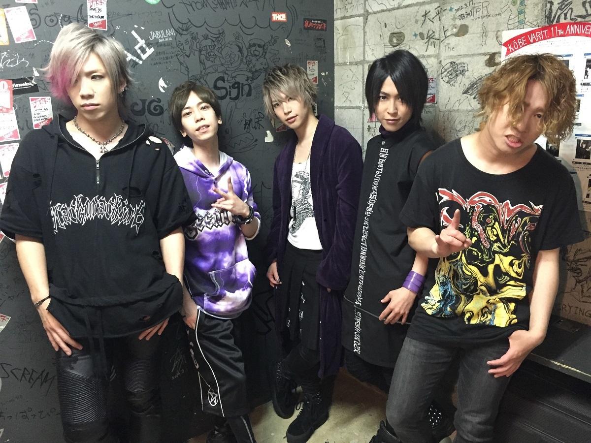 SuG『SuG TOUR 2016 SLVS』4月9日 神戸VARIT.楽屋にて
