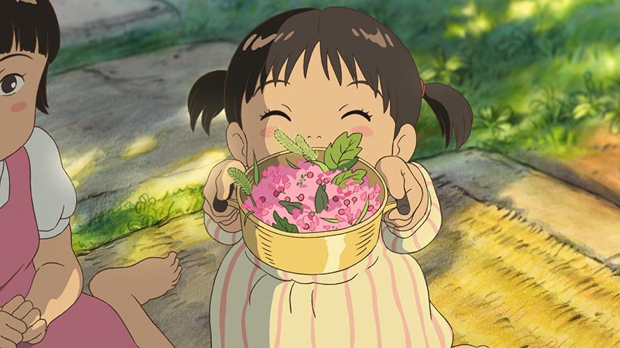 ハウス食品「おうちで食べよう。」シリーズCM 「庭の千草」バージョン (C)2016 Studio Ghibli