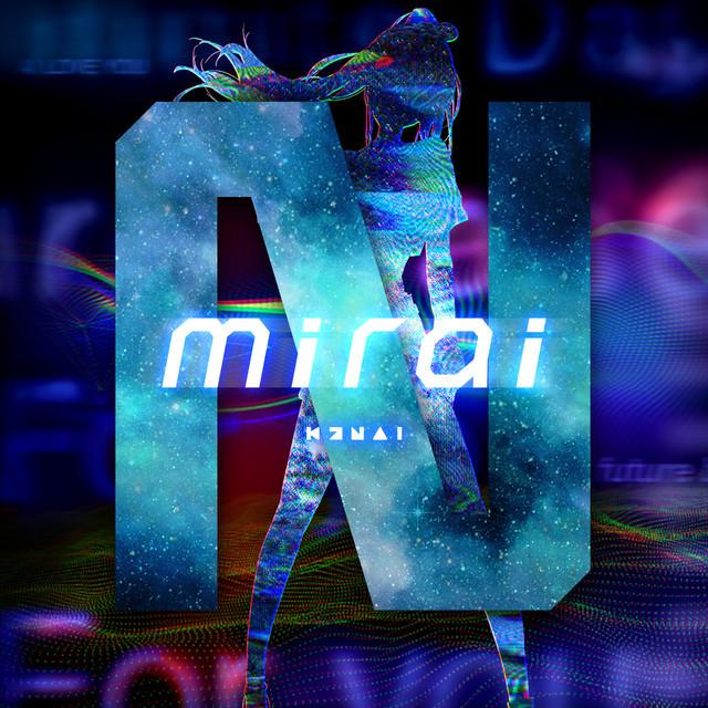 Kizuna AI(キズナアイ)「mirai(Prod. ☆Taku Takahashi)」配信ジャケット (c)Kizuna AI / upd8 music