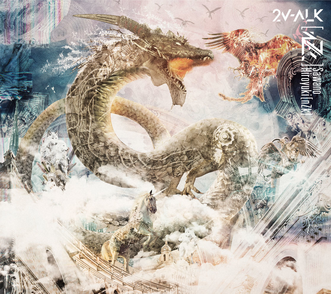 2nd album『2V-ALK』初回限定盤
